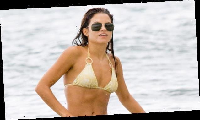Jenna Dewan Slips Into Sheer Swimsuit 11 Weeks After Giving Birth To Son Callum — Pic