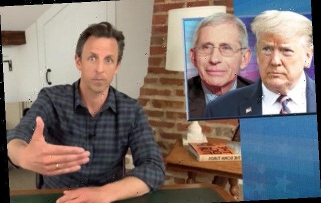 Seth Meyers: Fox News Using Fauci as Scapegoat for Trump's Coronavirus Failures (Video)