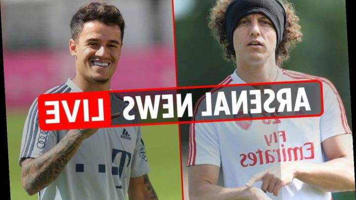 6.30pm Arsenal news LIVE: David Luiz to be released, Coutinho transfer plan confirmed, Dembele to cost £44.5m – The Sun