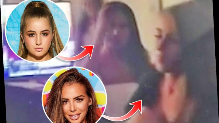 Love Island's Elma Pazar breaks lockdown rules for boozy bank holiday house party with Georgia Steel