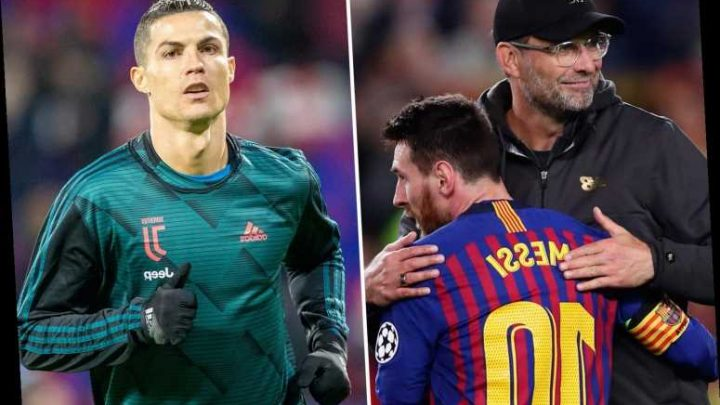 Klopp picks Messi over Cristiano Ronaldo having faced both superstars as Liverpool boss wades into GOAT debate – The Sun