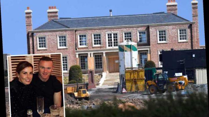 Man Utd legend Wayne Rooney splashes £150k on new walk-in wine room at £20m Cheshire mansion – The Sun