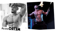 You can book this online male strip show for your Zoom hen do