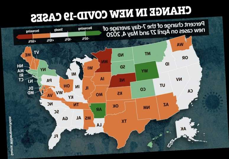 Coronavirus map shows US states where infections are rising – with MN cases spiking 155% in a WEEK as protests rage – The Sun