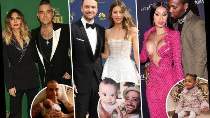These A-listers managed to hide pregnancies despite living in the public eye – The Sun