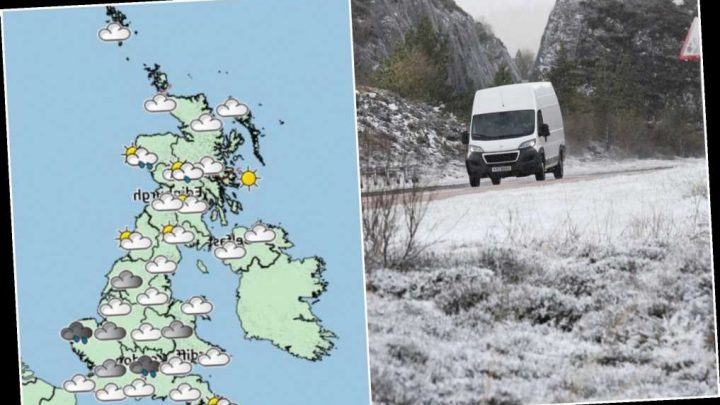 UK weather forecast – Britain set for Arctic chill as temperatures plunge up to 10C in just a day – The Sun