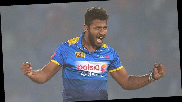 Shehan Madushanka: Sri Lanka suspend fast bowler after heroin arrest