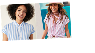 If I Could Wear 1 Shirt All Summer, It Would Be This $16 Striped Button-Down