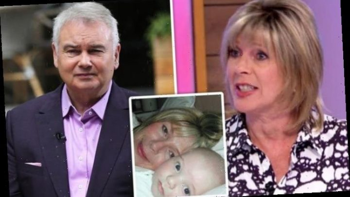 Ruth Langsford in swipe at Eamonn Holmes as she addresses son's birth: 'He was nervous'