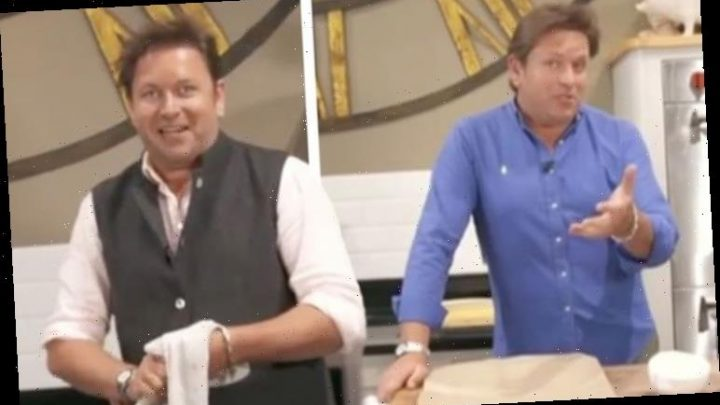 James Martin mocked by viewers over huge kitchen distraction 'F****** hell!'
