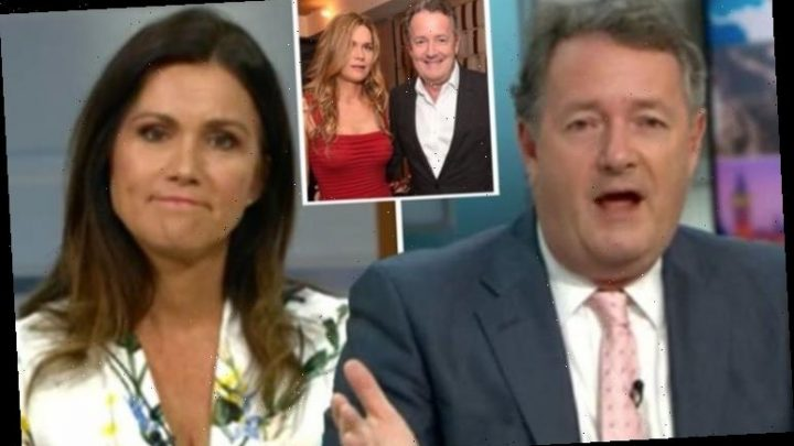 Piers Morgan stunnedoverSusanna Reid'sboldclaimabout wife Celia 'You're punching!'