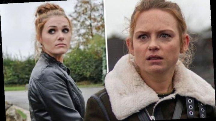 Emmerdale: Amy Wyatt star's partner left stunned after surprise lookalike debut