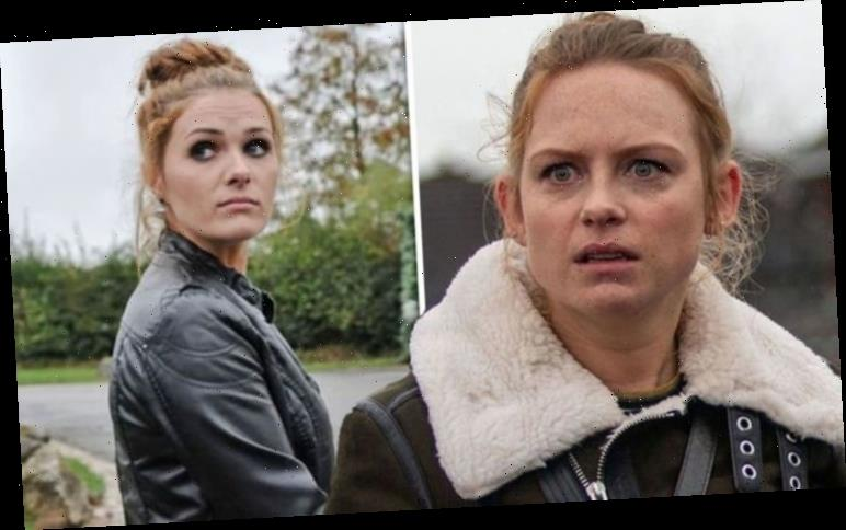 Emmerdale: Amy Wyatt star's partner left stunned after surprise lookalike debut