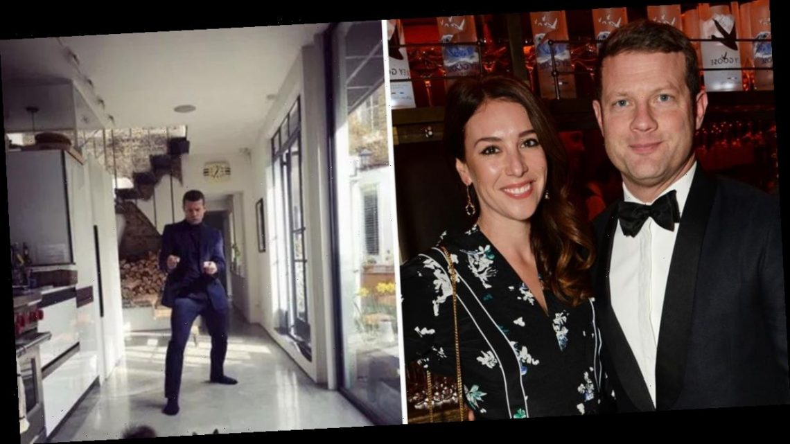 Dermot O'Leary's home: Inside The X-Factor hosts' £3.5million London house as he welcomes son with wife Dee Koppang