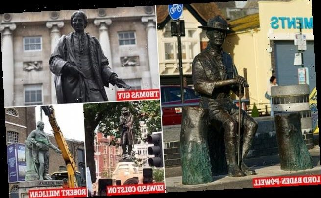 Statue of Scouts founder Lord Baden-Powell will be REMOVED today