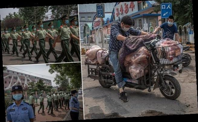 Beijing puts sections of city under lockdown after six new Covid cases