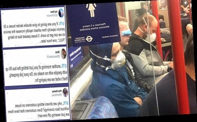 'Is THIS how you wear a face mask?': Man seen wearing mask over eyes