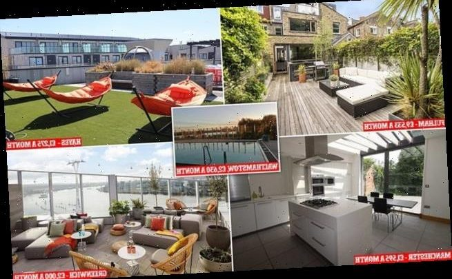 Inside the UK's most sought-after rental properties
