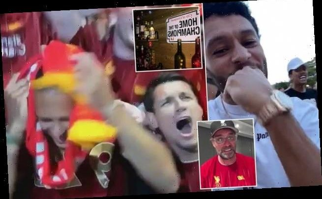 Inside Liverpool's party as they counted down to Premier League win