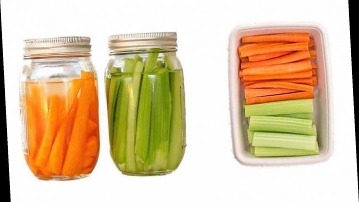 Mum shares simple trick for making your veggies last a MONTH and it doesn't cost a thing