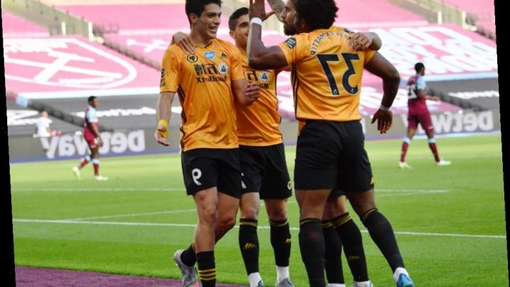 West Ham 0 Wolves 2: Neto fires in unstoppable volley after Jimenez scores 14th of season as Wolves breeze past West Ham – The Sun