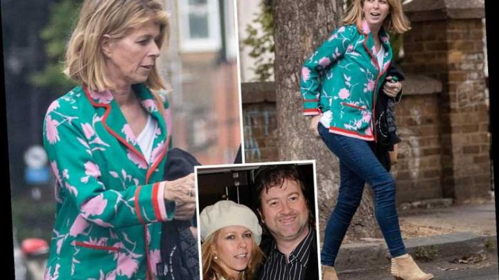 Kate Garraway puts on a brave face after being warned husband Derek 'may never regain consciousness' after coronavirus – The Sun