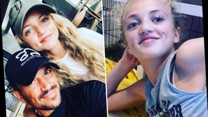 Peter Andre admits he's 'stressing' about becoming dad to a teenage daughter as Princess' 13th birthday looms