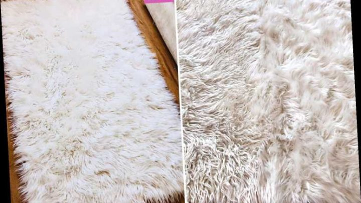 Woman shares three-step trick for washing fluffy rugs & it makes them look as good as new