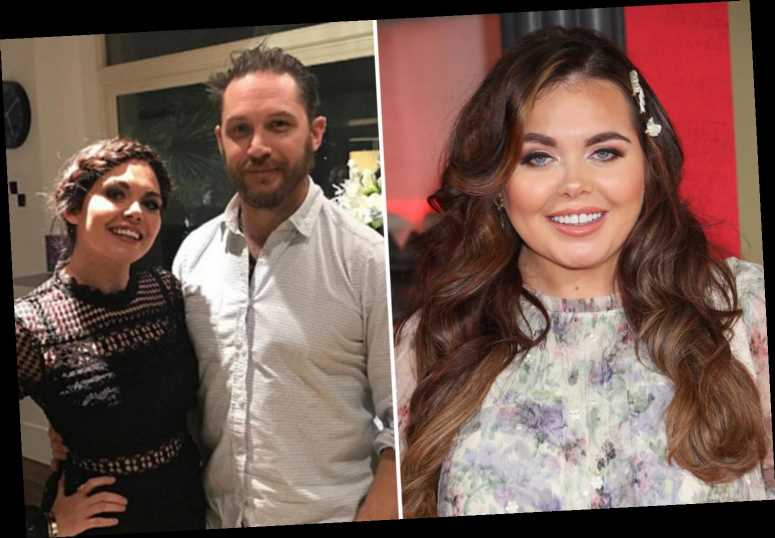 TV star Scarlett Moffatt reveals Tom Hardy invited her to play chess at his home