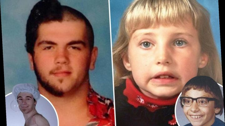 People share the old school photos they'd like to forget in hilarious gallery