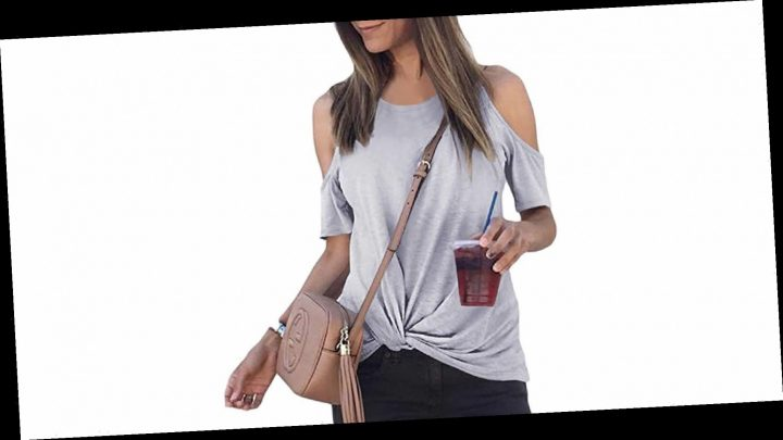 These Casual Twist-Front Tops Go With Everything in Your Closet