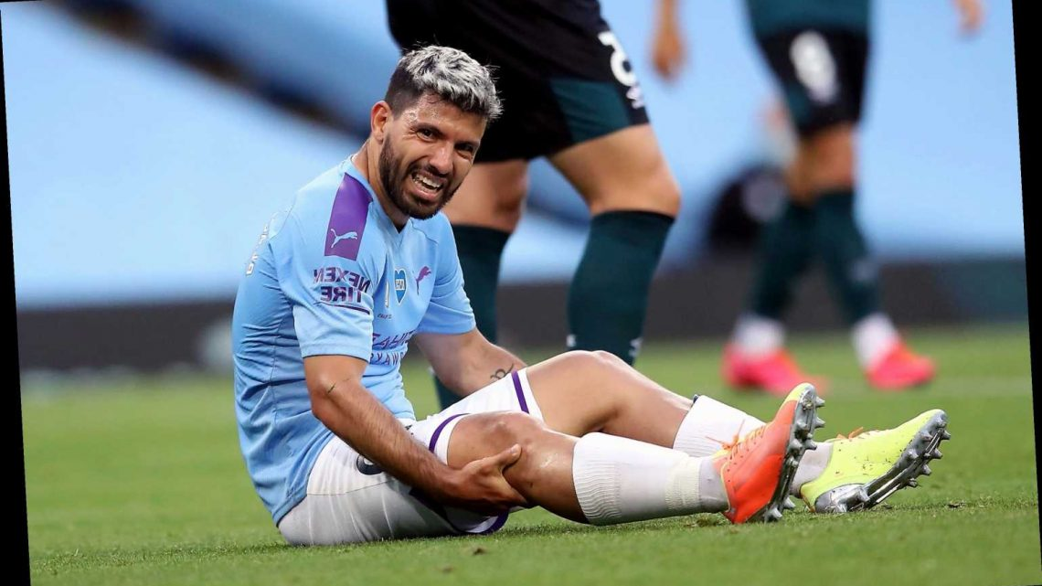 Sergio Aguero to travel to Barcelona for knee injury surgery assessment with Man City fearing he could miss season – The Sun
