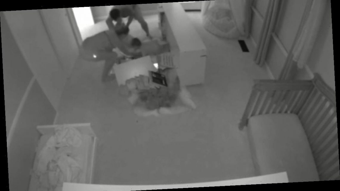 Horrifying video shows huge Ikea bookcase TOPPLE OVER onto toddler twins – The Sun