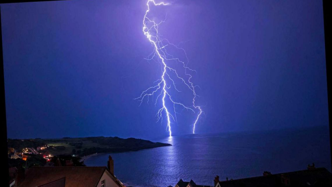 UK weather forecast – Britain to be lashed by more thunderstorms and lightning today after hottest day of year