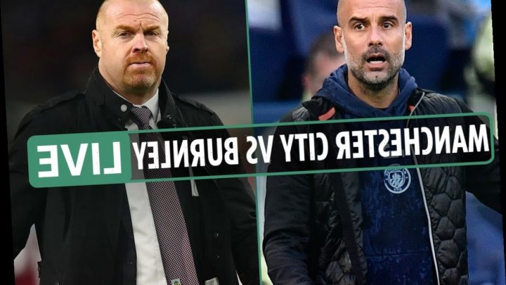 Premier League – Man City vs Burnley LIVE: Stream FREE, TV channel, kick-off time as team news imminent from Etihad – The Sun