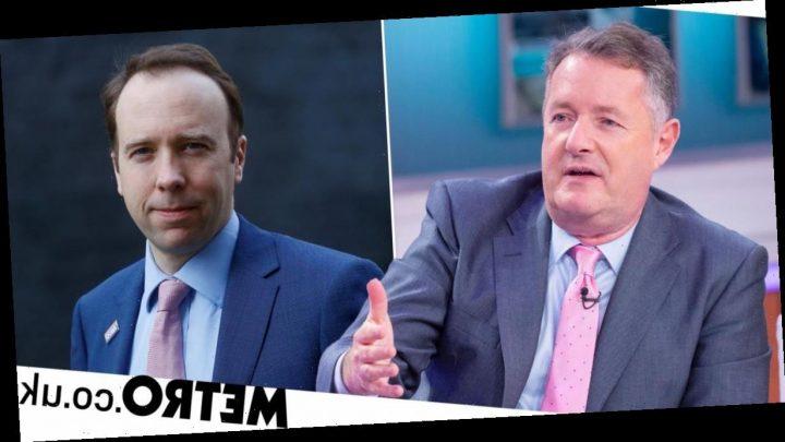 Piers Morgan takes savage look at past Matt Hancock interviews after GMB boycott