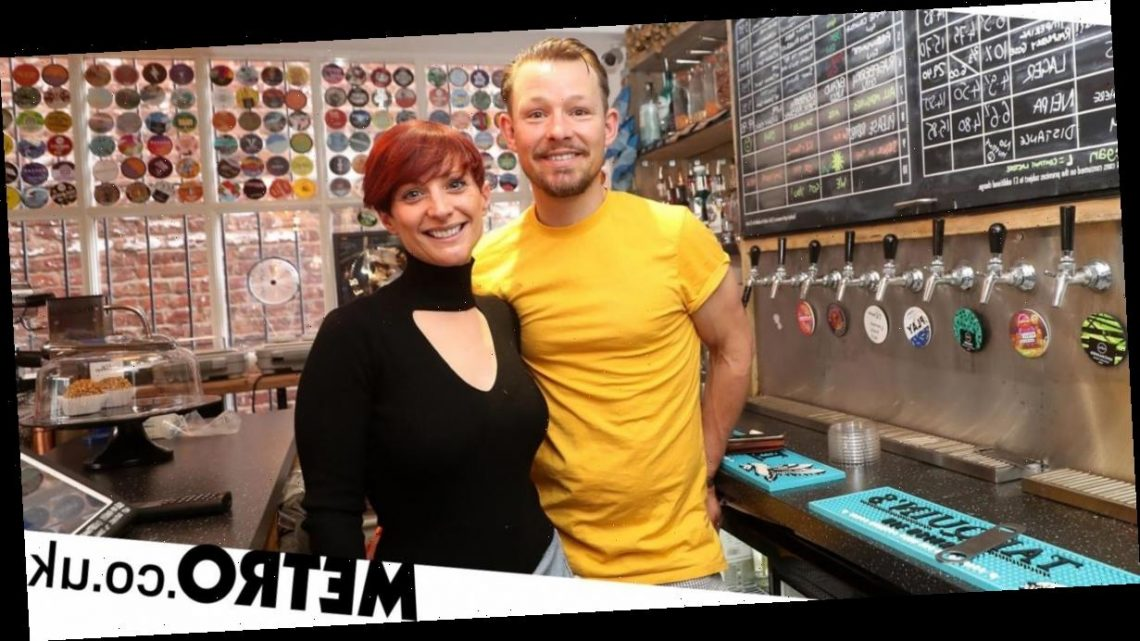 Hollyoaks star Adam Rickitt and wife Katy prepare to reopen their Cheshire bar