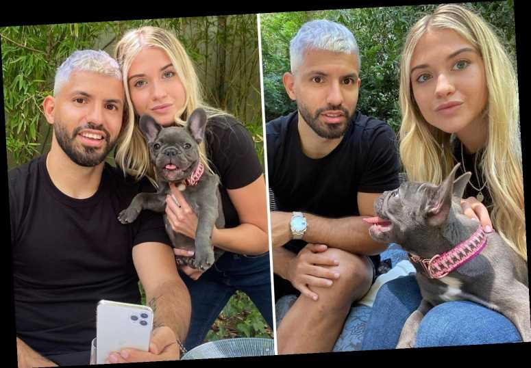 Sergio Aguero dyes hair SILVER as Man City striker faces fight to be fit before end of season after knee surgery – The Sun