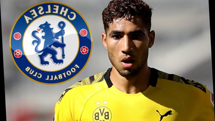 Chelsea handed transfer blow with Achraf Hakimi targeted by Bayern Munich following Dortmund loan – The Sun