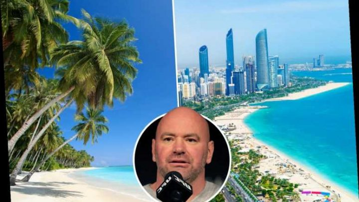 UFC chief Dana White plans to stay on 'Fight Island' for a MONTH as Abu Dhabi is touted as mystery venue – The Sun