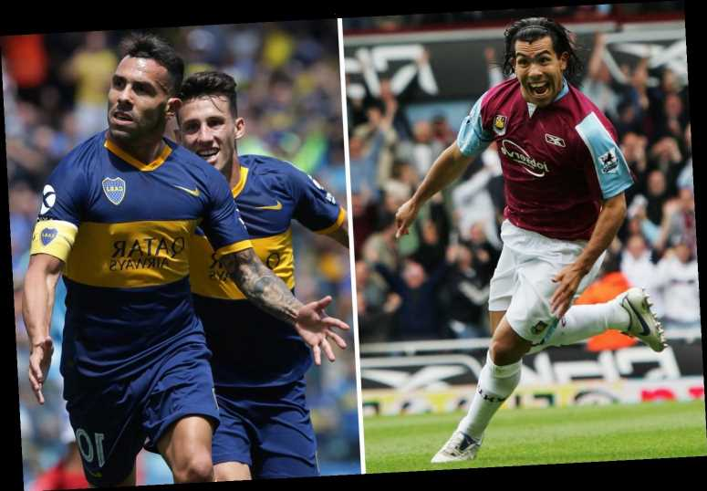 Carlos Tevez open to shock West Ham transfer as 36-year-old's deal with Boca Juniors expires – The Sun