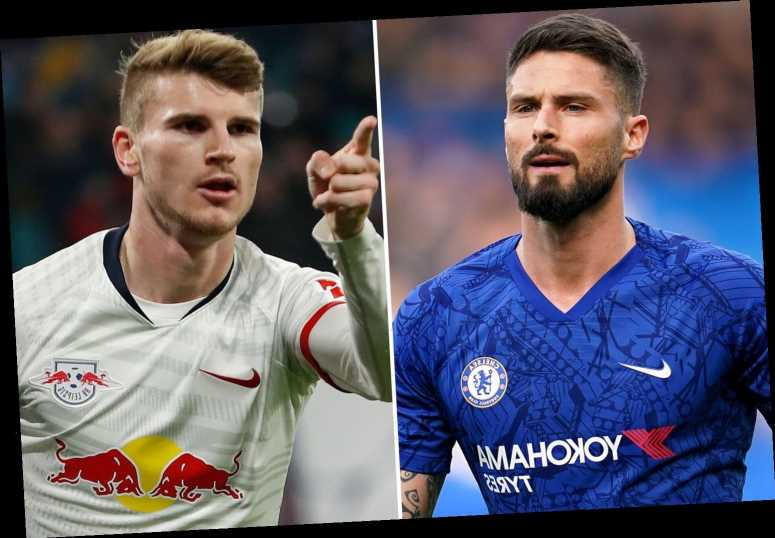 Timo Werner transfer has motivated Chelsea strikers, claims Olivier Giroud as he comes out fighting – The Sun