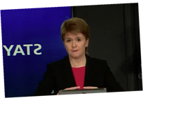 Nicola Sturgeonsays Scotland considering FORCING people to wear masks in shops