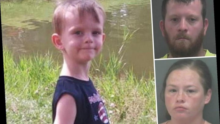 Bruised boy, 4, dies weighing 25 pounds after 'dad and girlfriend starved him and withheld water' in trailer – The Sun