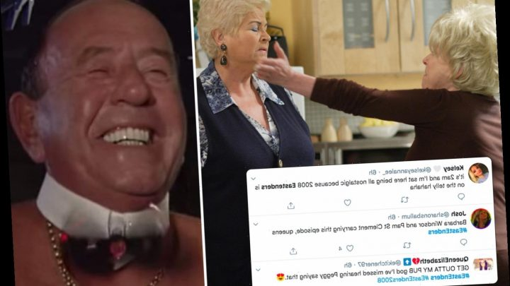 EastEnders fans go wild as 'iconic' 2008 episode starring Pat, Peggy Mitchell and naked Frank Butcher airs on BBC4 – The Sun