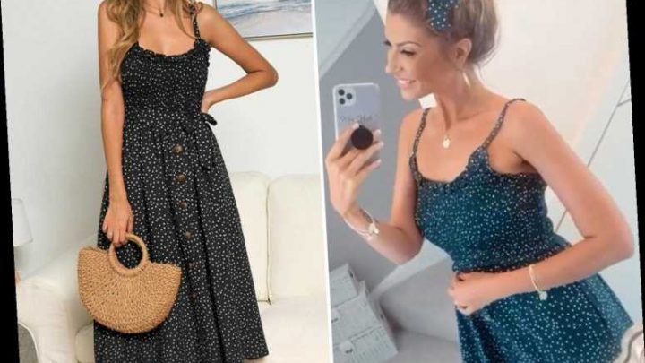Mrs Hinch sends fans wild as she stuns in bargain £10 eBay dress and excitedly makes first B&M trip in months