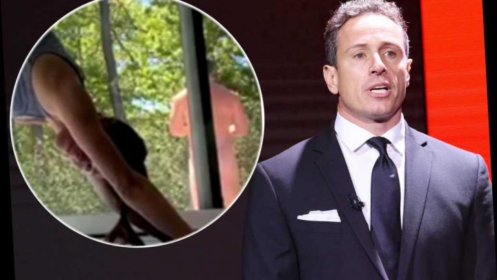 Chris Cuomo apparently caught naked in wife Cristina's yoga video