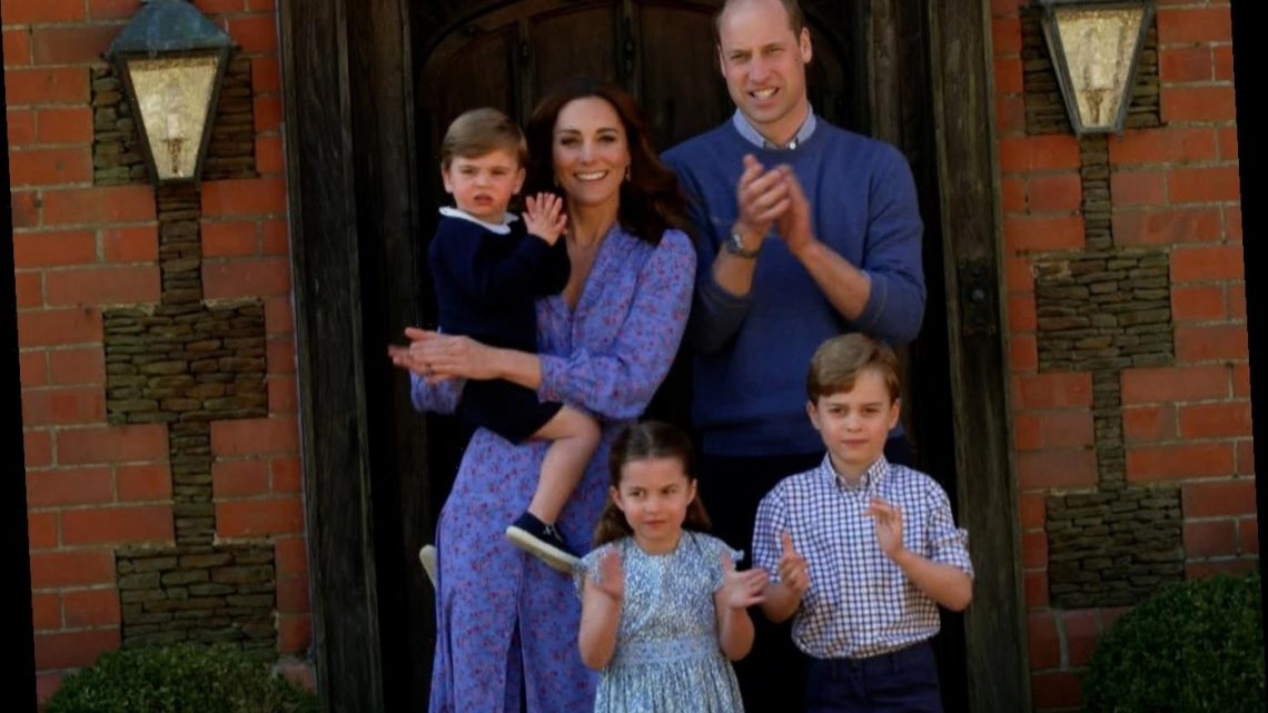 Kate Middleton & Prince William use a 'chat sofa' instead of 'the naughty step' to discipline George, Charlotte & Louis