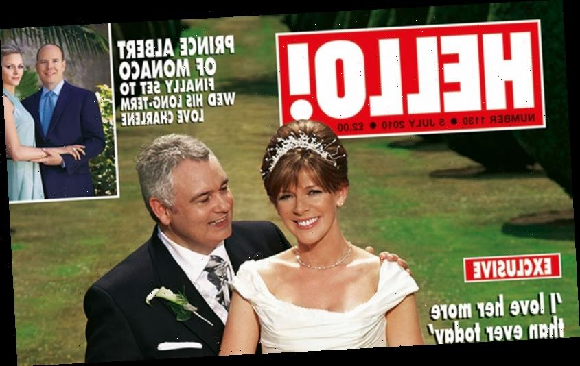 Look back on Ruth Langsford and Eamonn Holmes' wedding as they celebrate 10th anniversary