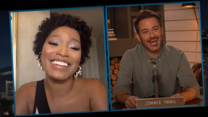"Keke Palmer Tells Jimmy Kimmel ""We All Need To Come Together""; Talks Her Powerful Moment With The National Guard"